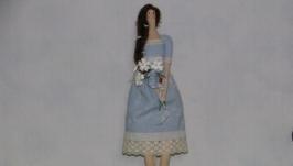 Кукла тильда Весна Первоцвет