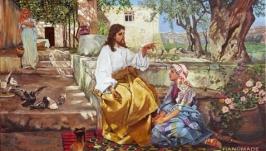 Христос у Марфы и Марии (копия)