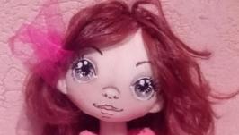 Кукла ручная работа Карамелька