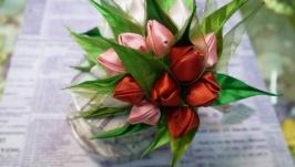 Ободок Букет тюльпанов