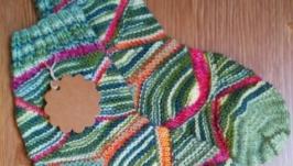 Носки с абстрактным рисунком