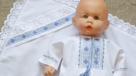 Крестильный набор для мальчика