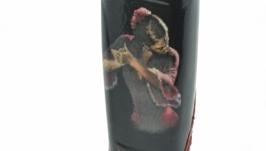 Бутылка Маренго декорированная в технике декупаж