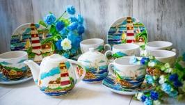 Чайный сервиз «Морской бриз»