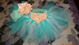 Красивая юбочка ту-ту для маленькой принцессы
