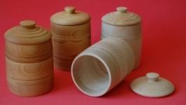 Деревянные емкости для мёда или любых сыпучих продуктов