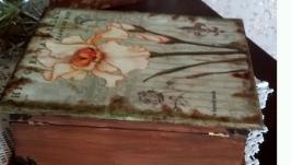 Шкатулка Старая книга