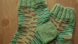 Зеленые носки Дачные