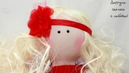 Текстильная кукла Наталия