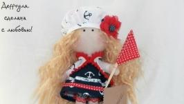 Текстильная кукла Анютка