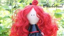 Текстильная кукла Леля