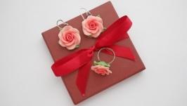 Набор ′Розы розовые′