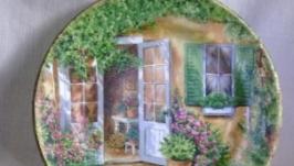 Декоративна тарiлка  ′Стежка в сад′
