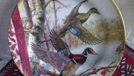 Декоративна тарiлка ′Дикi качки′