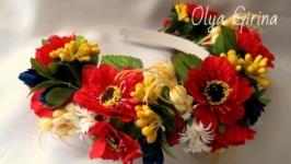 Віночок ′Українські квіти′