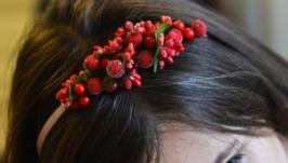ободок на голову квітковий
