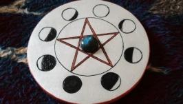 Алтарный пентакль ′Лунная пентаграмма′