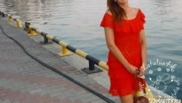 Платье ′Мартини′ по мотивам платья Ванессы Монторо