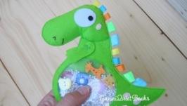 Искалка Дракоша - развивающая игрушка для малышей