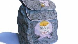 Детский рюкзак с Машей (дитячий рюкзак)
