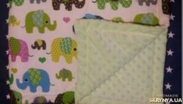 Детское одеяло-конверт для выписки