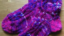 Носки фиолетовые