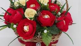 Солодкий подарунковий букет  ′Ред Наомі′
