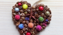 Ялинкові прикраси ′Аромат кави′