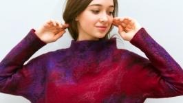 Валяный свитер ′Невесомость′