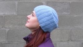 Теплая шапка из шерсти
