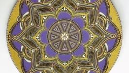 тарілка декоративна ′Сяйво аметисту′