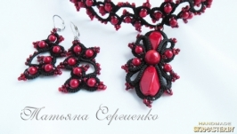 Комплект Черное и красное