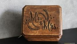Коробочка для колец MrMrs