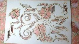 Чипборд ′Набор флора №3′