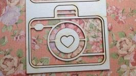 Чипборд ′Набор фотоаппаратов′