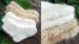 Детские шерстяные носки из собачьего пуха Эко, носочки, гольфы, пинетки