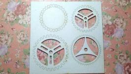 Чипборд ′Набор шестерней №3′