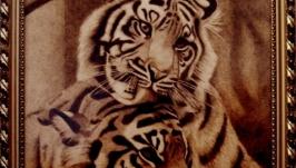 Картина Тигриная любовь