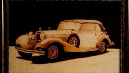 Картина Mercedes Benz 540K