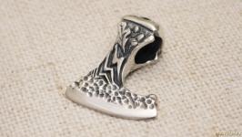 «Сокира перуна» Кулон срібний середній
