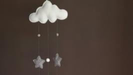 Фетровый мобиль CloudStars