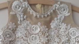 Нарядное детское платье в европейском стиле