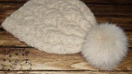 Шапка из  альпаки