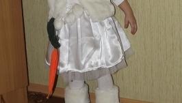 Карнавальный костюм зайчика для девочки.
