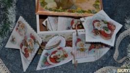 Елочная гирлянда ′ Санта Клаус ′