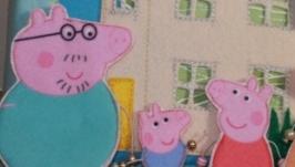 Развивающая книжка по мотивам мультфильма Свинка Пеппа