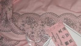 Лляна скатертина ′Рожевий дотик′