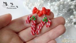 Сережки ′Рождественские леденцы′