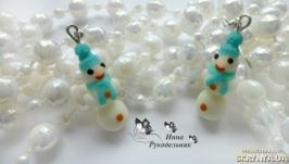Сережки ′Снеговички′