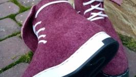 Эко ботиночки из натуральной шерсти
